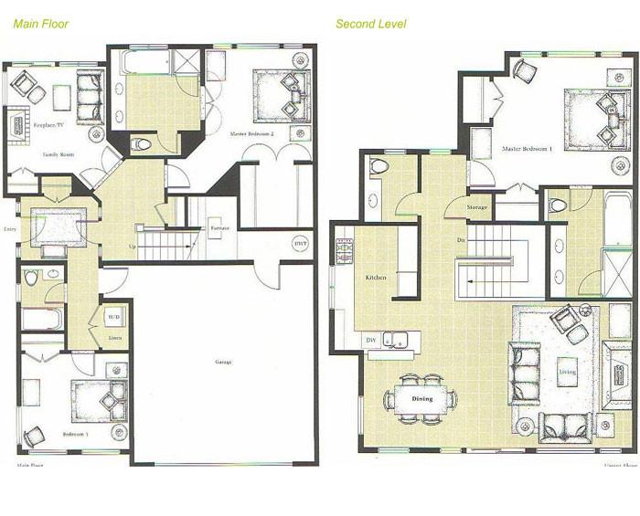 Up Down Duplex Floor Plans 28 Images 1000 Images About