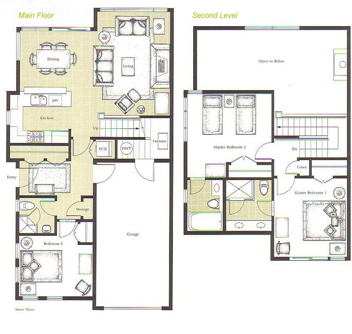 Floor plans for whistler montebello ii home rentals Rental house plans