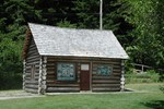 The Valley / One of the historical Cabins at Rainbow Park