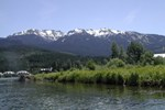 The Mountains / Blackcomb Mountain seen from the River of Golden Dreams