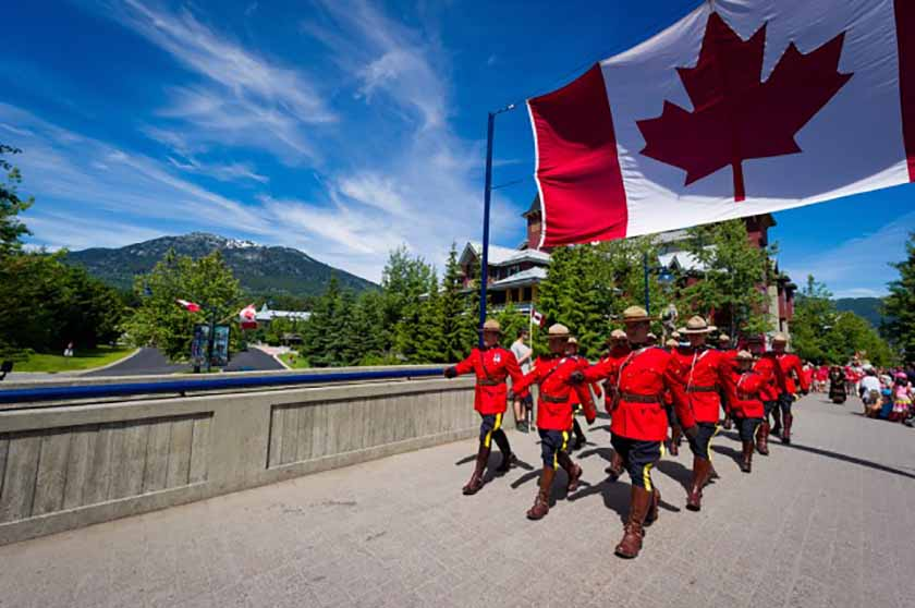 Canada Day 2017 - Mounties