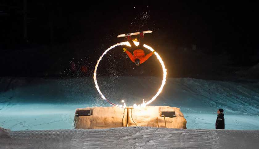 Fire and Ice Show Whistler Family Day