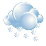 Considerable cloudiness with snow becoming steadier, accumulating an additional 3-8 cm